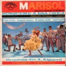 Discos de vinilo: MARISOL - B.S.O. BUSQUEME A ESA CHICA - EP ZAFIRO 1964 RF-3634 . Lote 139376854