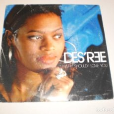 Discos de vinilo: SINGLE DES'REE. WHY SHOULD I LOVE YOU. EPIC 1992 SPAIN (PROBADO Y BIEN). Lote 139377710