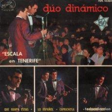 Discos de vinilo: DUO DINAMICO ESCALA EN TENERIFE / QUE GUAPA ESTAS ...EP LA VOZ DE SU AMO DE 1964 RF-3650. Lote 139379866
