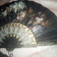 Antigüedades: ANTIGUO Y ESPECTACULAR ABANICO DE ENTRE 1860 A 1880 APROX.... Lote 139004768