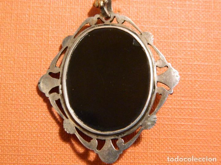 Antigüedades: Santiago, azabache, medallón de pelegrino, escuela compostelana - Foto 2 - 139437338