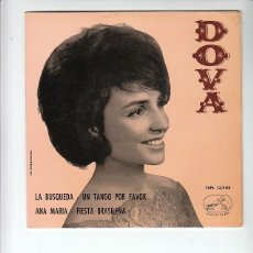 Discos de vinilo: DOVA: CHICA YE YE- RARISIMO ESPAÑA- CANTANTE FEMENINA- MUY NUEVO-BEATLES. Lote 139438170