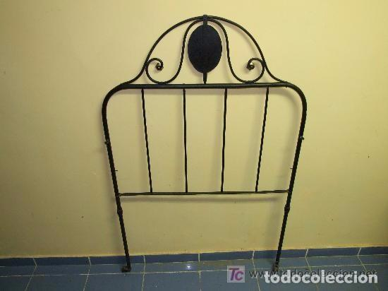 Antigüedades: CAMA CABEZAL DE HIERRO INDIVIDUAL - Foto 2 - 139444018