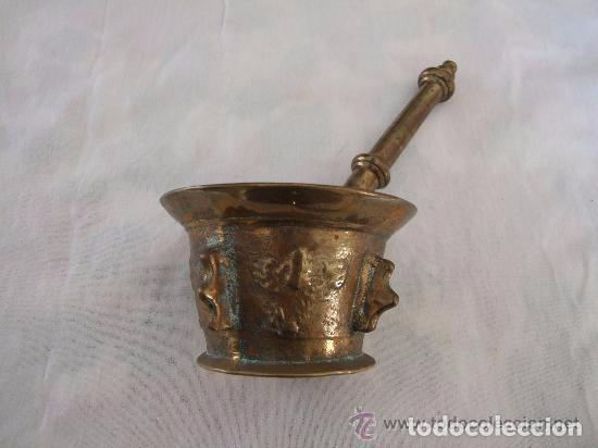 ALMIREZ, MORTERO DE BRONCE S. XVIII (Antigüedades - Hogar y Decoración - Otros)