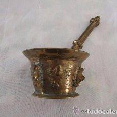 Antigüedades: ALMIREZ, MORTERO DE BRONCE S. XVIII. Lote 139445850