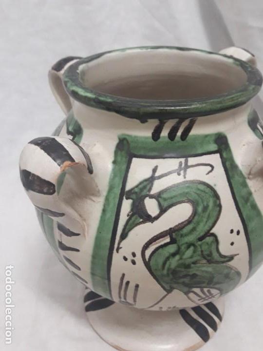 Antigüedades: Antiguo jarro con 4 asas de Domingo Punter Teruel - Foto 4 - 139475842