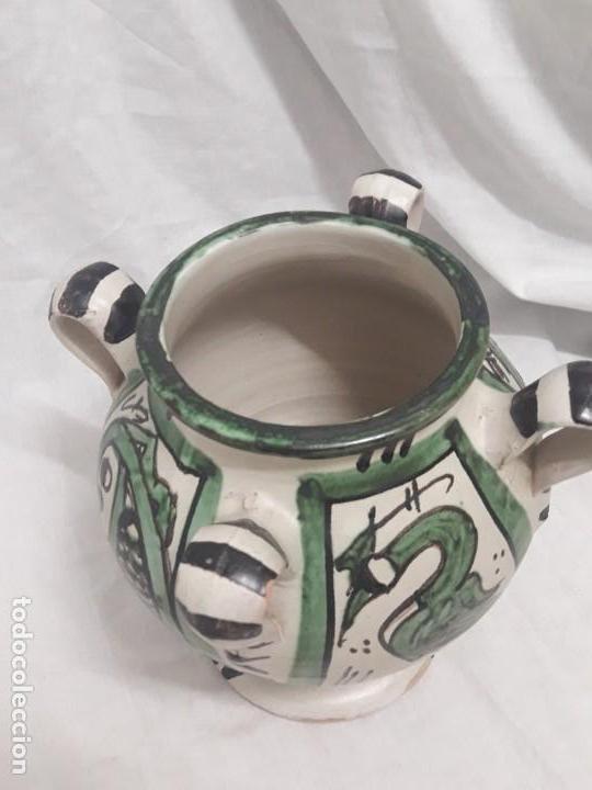 Antigüedades: Antiguo jarro con 4 asas de Domingo Punter Teruel - Foto 5 - 139475842