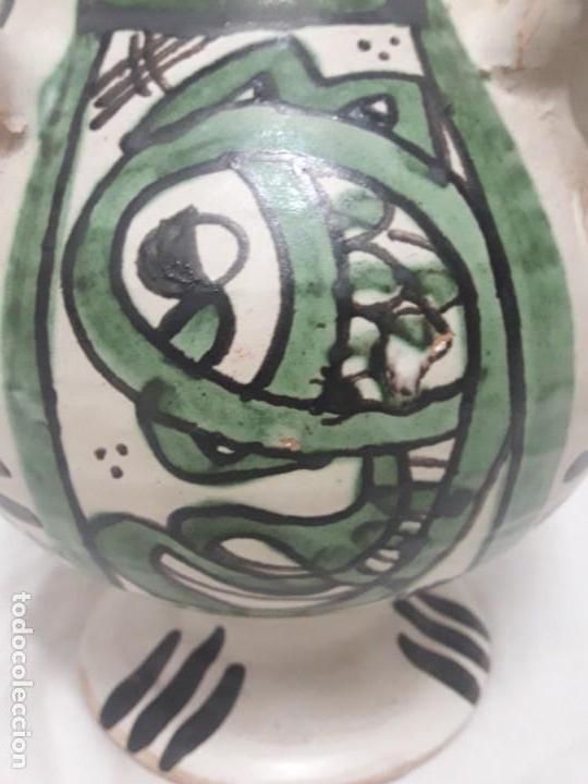Antigüedades: Antiguo jarro con 4 asas de Domingo Punter Teruel - Foto 8 - 139475842