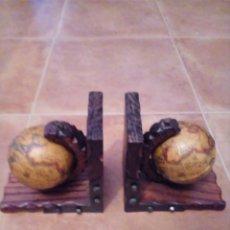 Antigüedades: SUJETA LIBROS. Lote 139480202