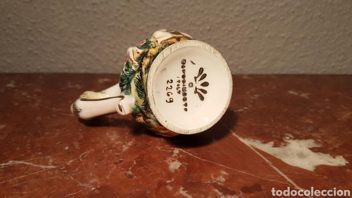 Antigüedades: JARRA CAPODIMONTE CON SELLO EN BASE NUMERADA - Foto 6 - 139480834