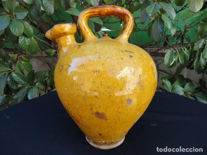 ALFARERÍA CATALANA: CÀNTIR FIGUERES XIX (Antigüedades - Porcelanas y Cerámicas - Catalana)