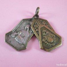 Antigüedades: LOTE 2 MEDALLAS ANTIGUAS-JOAQUINA DE VEDRUNA-VER FOTOS. Lote 139521954