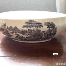 Antigüedades: CENTRO DE LOZA PORTUGUESA GILMAN. Lote 139531610