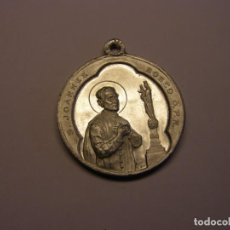 Antigüedades - Antigua medalla religiosa de San Juan Bosco. - 139537046