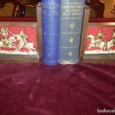 Antigüedades: PAREJA DE SOPORTE DE LIBROS. Lote 139556520