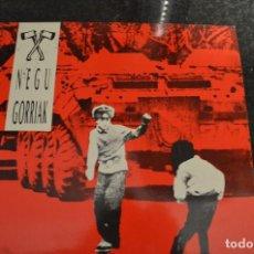 Discos de vinilo: NEGU GORRIAK LP VINILO 1990 FIRMADO,NO DEDICADO,VER FOTOS. Lote 139558110