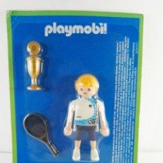 Playmobil: FIGURA TENISTA HISTORIA DEL DEPORTE ALTAYA PLAYMOBIL. Lote 139621906