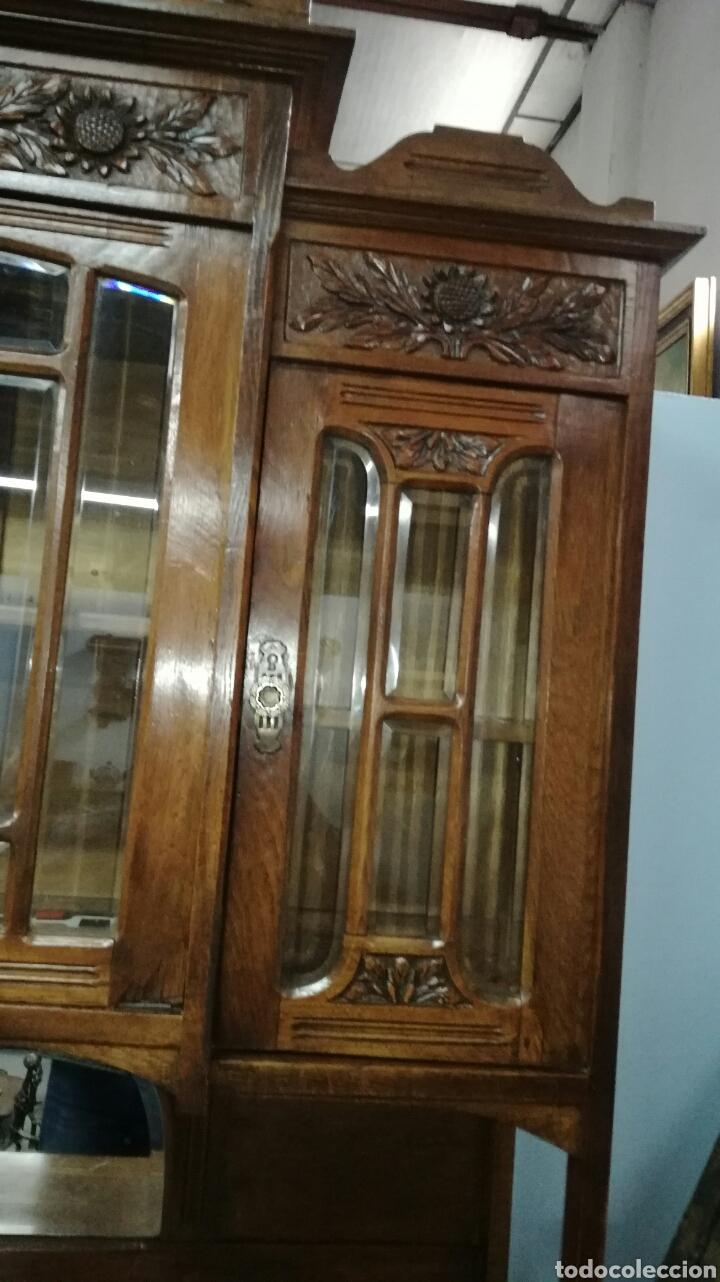 Antigüedades: Aparador de madera de roble macizo en buen estado - Foto 2 - 139624590