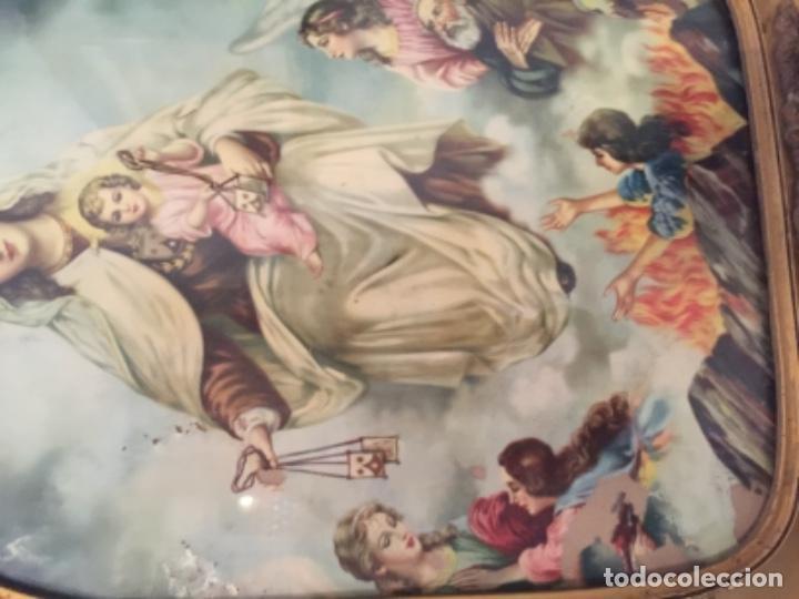 Antigüedades: Virgen del carmen muy antigua - Foto 2 - 139636758
