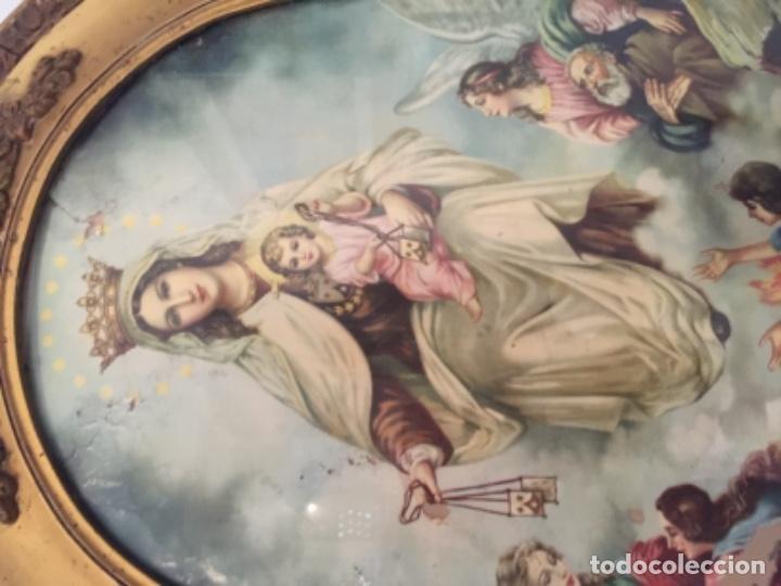 Antigüedades: Virgen del carmen muy antigua - Foto 3 - 139636758