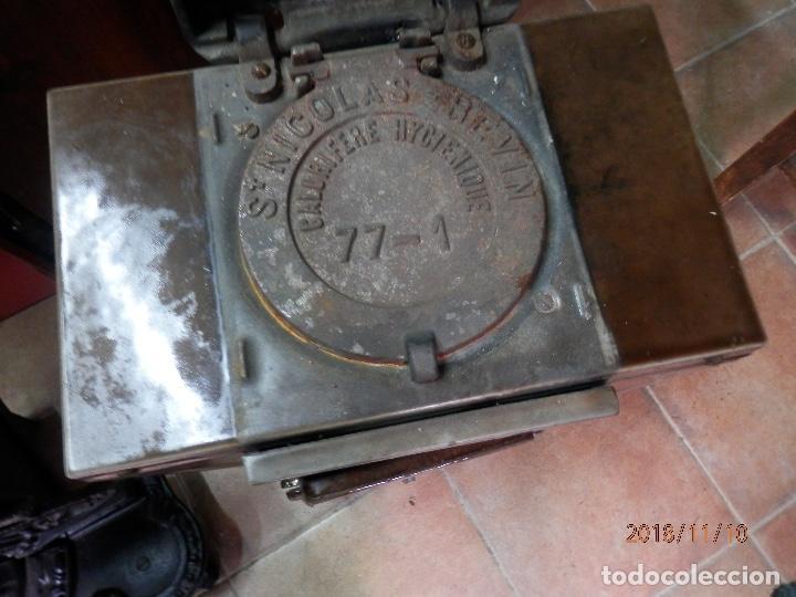 Antigüedades: estufa hierro y cerámica francesa - Foto 2 - 139650662