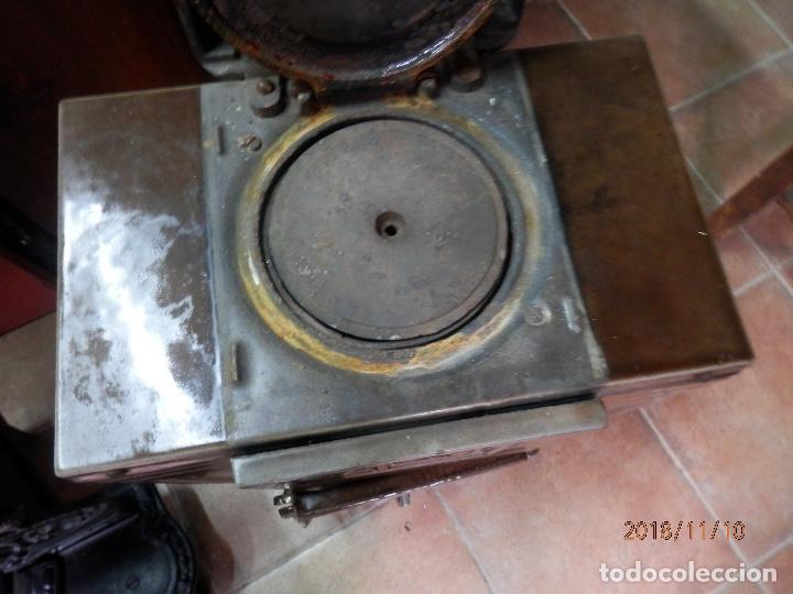 Antigüedades: estufa hierro y cerámica francesa - Foto 3 - 139650662