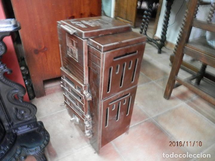 Antigüedades: estufa hierro y cerámica francesa - Foto 4 - 139650662