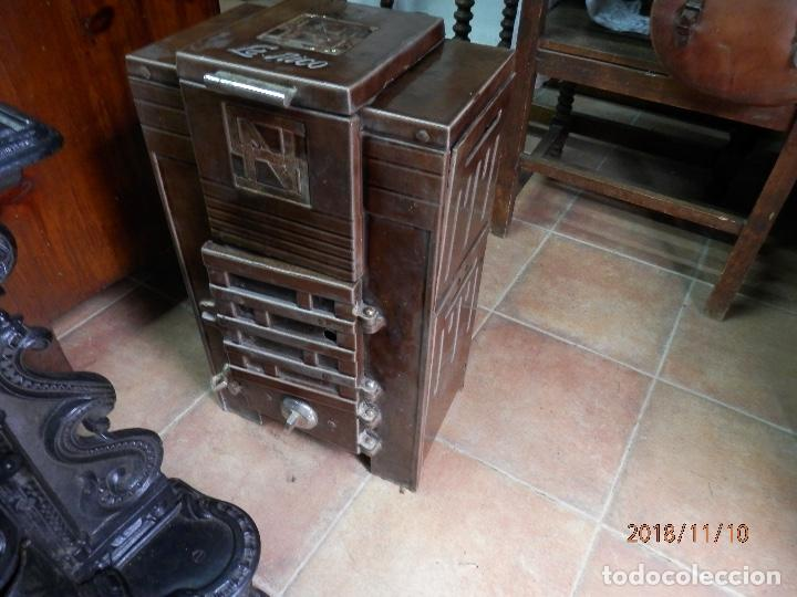 Antigüedades: estufa hierro y cerámica francesa - Foto 5 - 139650662