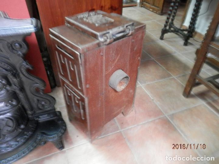 Antigüedades: estufa hierro y cerámica francesa - Foto 6 - 139650662
