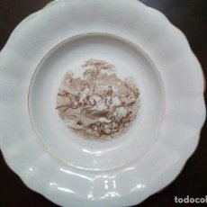 Antigüedades: * PLATO PICKMAN SERIE CAZA. (RF:12/C). Lote 139661070