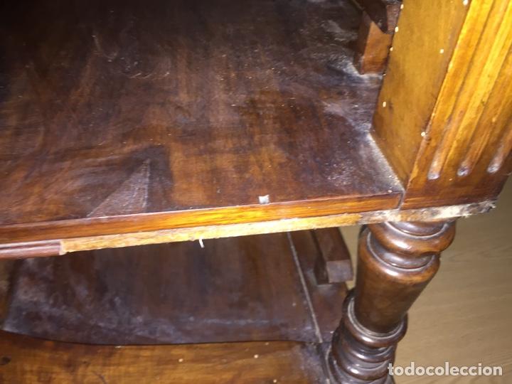 Antigüedades: Mesa despacho madera - Foto 11 - 139668877
