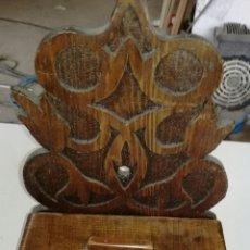 Antigüedades: ESPECIERO DE MADERA DE PINO L R. Lote 139692113
