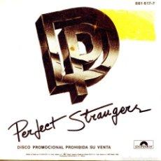 Discos de vinilo: DEEP PURPLE / PERFECT STRANGER / A GYPSY'S KISS (SINGLE PROMO 1984). Lote 139708966