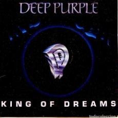 Discos de vinilo: DEEP PURPLE / KING OF DREAMS / FIRE IN THE BASEMENT (SINGLE PROMO 1990). Lote 139709142