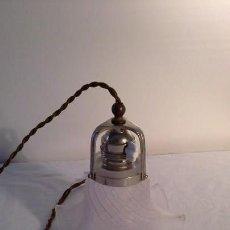Antigüedades: ANTIGUA LAMPARA PARA COLGAR. Lote 139715658