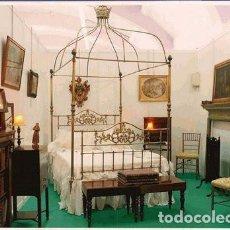 Antigüedades: CAMA CON DOSEL Y CORONA. Lote 139717798