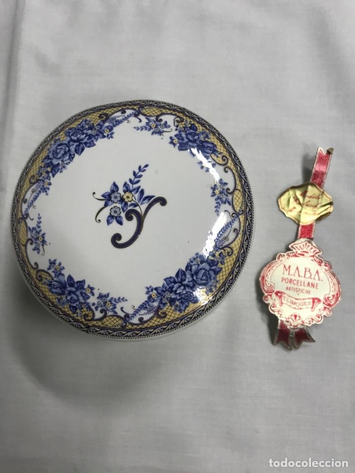 CAJA PORCELANA LIMOGES (Antigüedades - Porcelana y Cerámica - Francesa - Limoges)