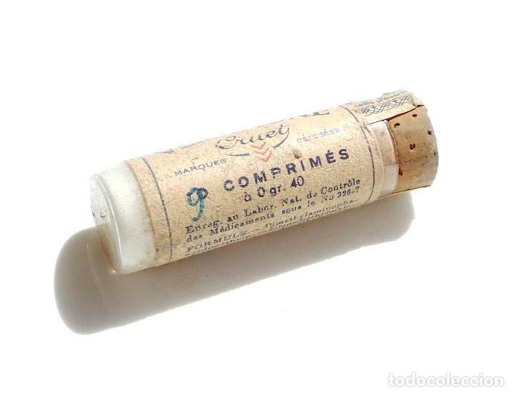 BOTECITO DE MEDICINA - MEDICAMENTOS - SIN ESTRENAR (Antigüedades - Cristal y Vidrio - Farmacia )