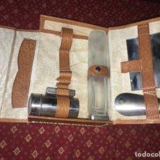 Antigüedades: JUEGO DE VIAJE, MEDIDAS FOTOGRAFIADAS. Lote 139728494