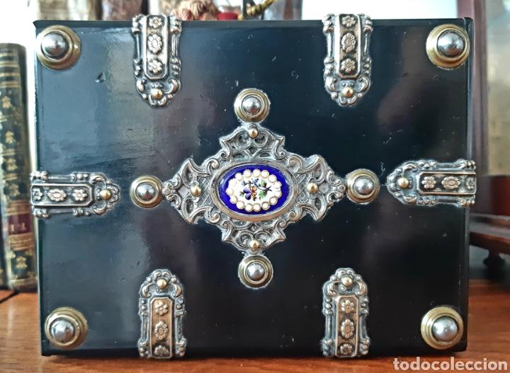 Antigüedades: Caja francesa estilo Napoleon III. Siglo XIX - Foto 3 - 139732340