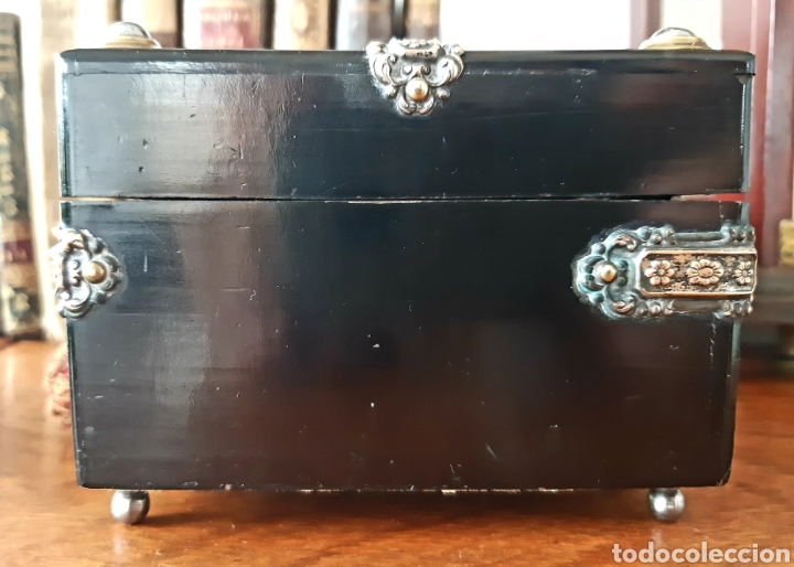 Antigüedades: Caja francesa estilo Napoleon III. Siglo XIX - Foto 6 - 139732340