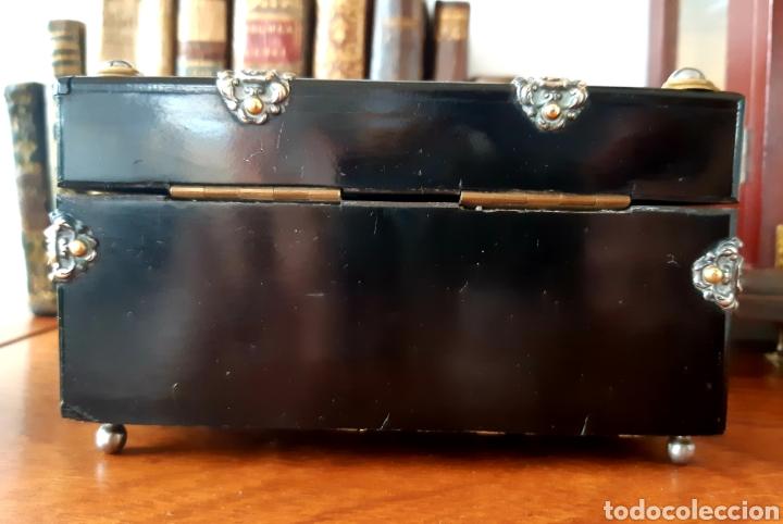 Antigüedades: Caja francesa estilo Napoleon III. Siglo XIX - Foto 7 - 139732340