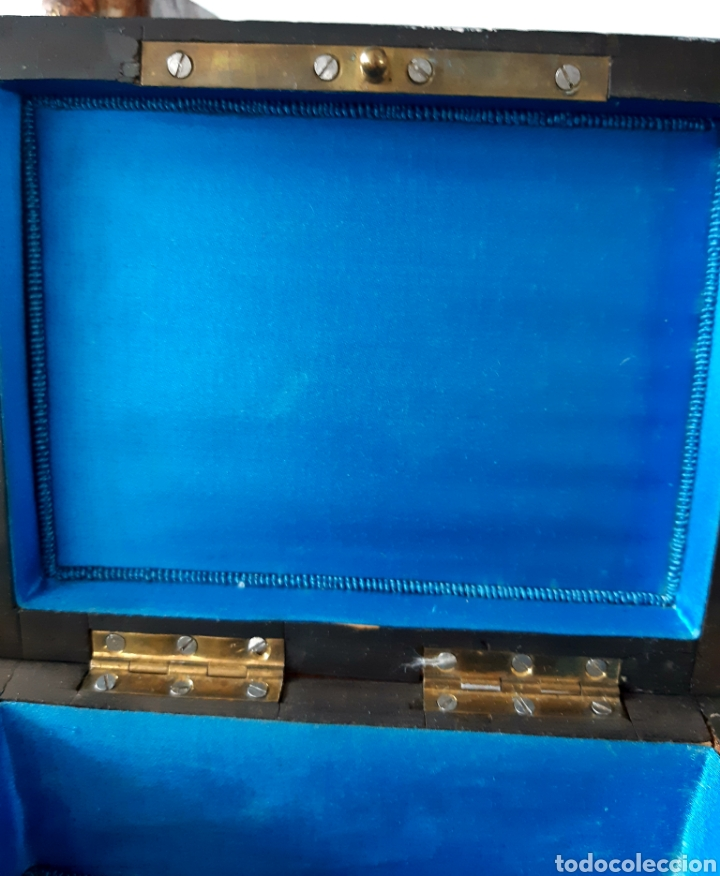 Antigüedades: Caja francesa estilo Napoleon III. Siglo XIX - Foto 10 - 139732340