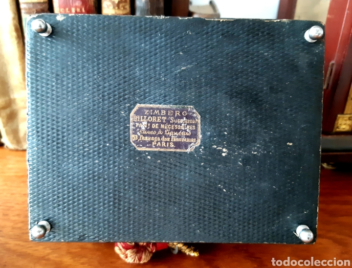 Antigüedades: Caja francesa estilo Napoleon III. Siglo XIX - Foto 11 - 139732340