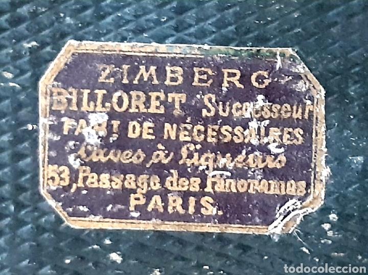 Antigüedades: Caja francesa estilo Napoleon III. Siglo XIX - Foto 12 - 139732340