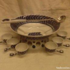 Antigüedades - Juego para queimada de porcelana de Sargadelos - 139739690