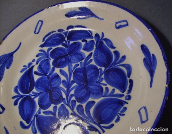 Antigüedades: PLATO CERÁMICA DE MANISES XIX - Foto 4 - 139742870