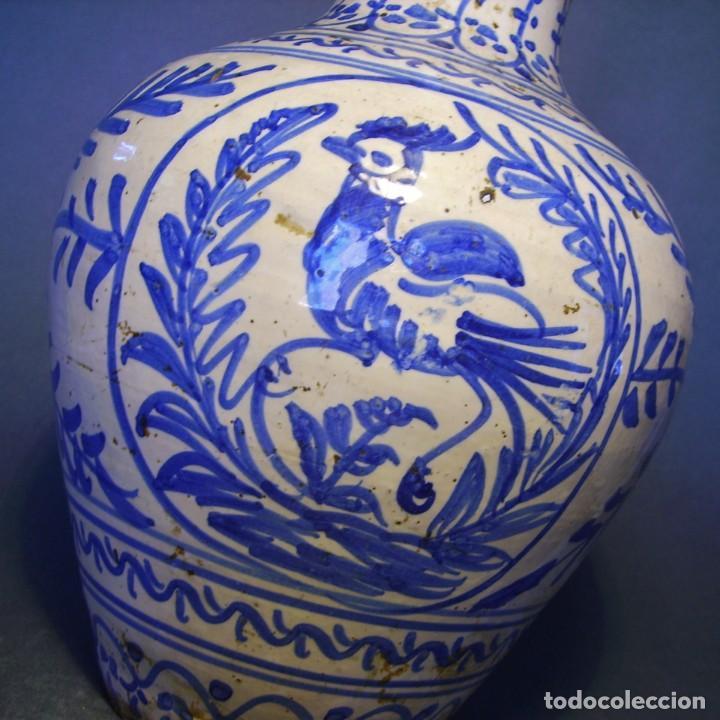 Antigüedades: GRAN JARRÓN CERÁMICA DE TALAVERA XIX - Foto 5 - 139744194