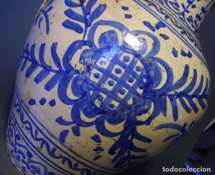Antigüedades: GRAN JARRÓN CERÁMICA DE TALAVERA XIX - Foto 6 - 139744194