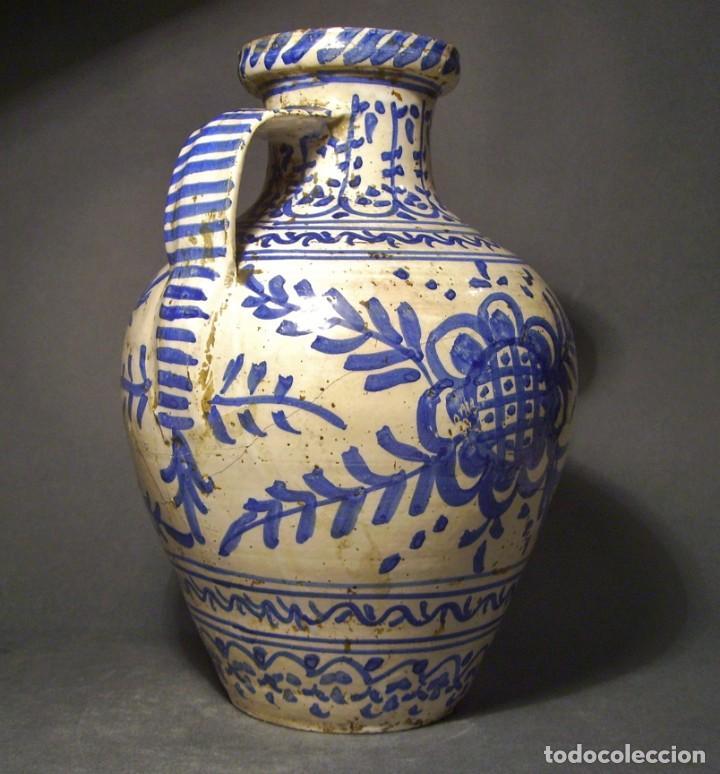 Antigüedades: GRAN JARRÓN CERÁMICA DE TALAVERA XIX - Foto 8 - 139744194